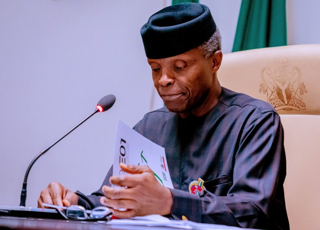 CBN Welcomes VP Osinbajo's Advice On Cryptocurrency