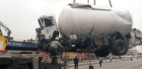 Lagos Gas Tanker Accident