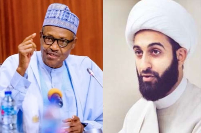 Imam Of Peace and President Buhari