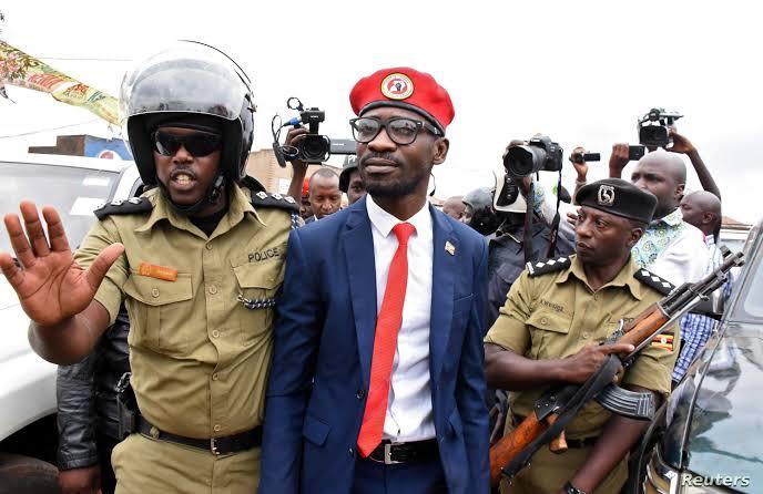 Bobi Wine 'restrained' not arrested