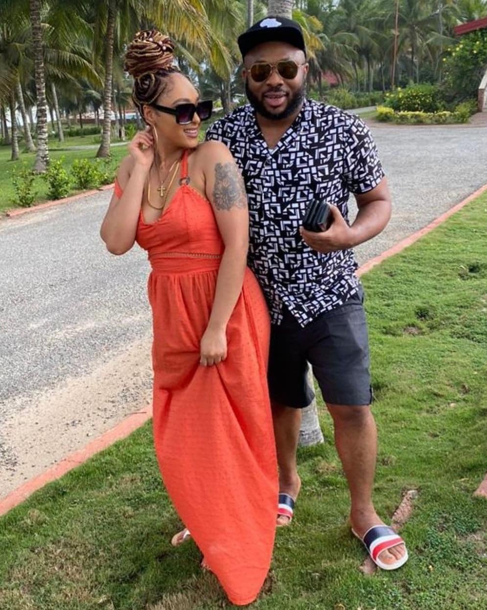 Olakunle Churchill shares loved up photos with wife, Rosy Meurer
