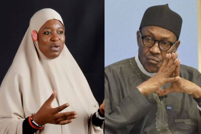 Aisha Yesufu Slams Buhari