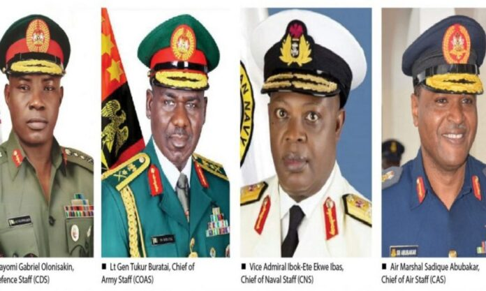 BREAKING: Senate confirms Ex- Service Chiefs