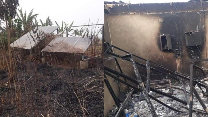 Herdsmen Set Solar Power Station On Fire