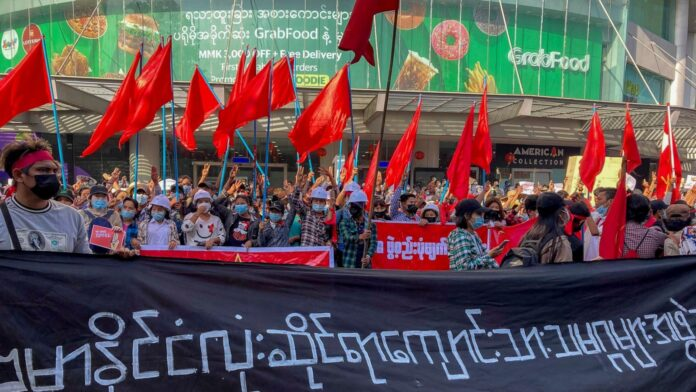 Myanmar Protesters Call For More Rallies