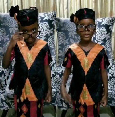 #BeLikeNgoziChallenge trends as Nigerians dress up like Ngozi Okonjo-Iweala to celebrate her emergence as WTO Director-General