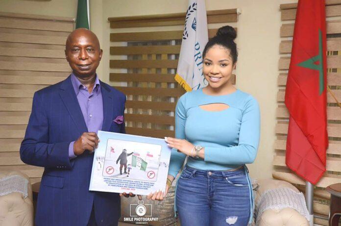 Nengi Endorses Ned Nwoko Malaria Project