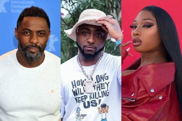 Idris Elba To Release Song With Davido, Megan