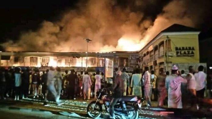 Fire Destroys Over 100 Shops