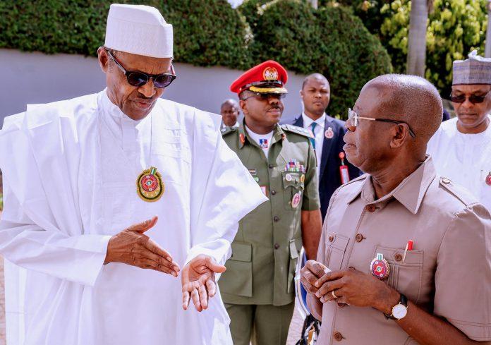 See What Buhari Told Oshiomhole