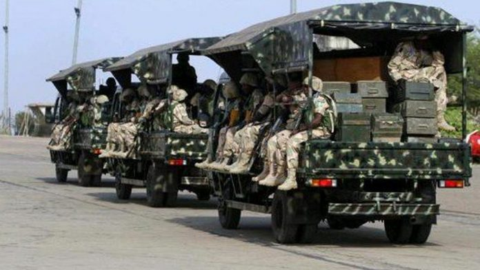 Bandits Ambush Army Logistics Convoy