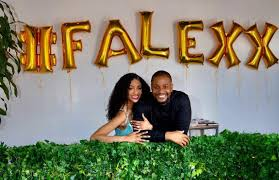 #Falexx: Alexx Ekubo Proposes To Model Girlfriend Fancy Acholonu