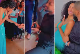 #Falexx: Alex Ekubo Proposes To Model Girlfriend Fancy Acholonu